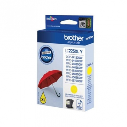 BROTHER LC-225XLY TONER HIGH YELLOW