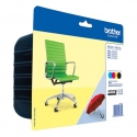 Brother LC229XL Value Ink Cartridge pack - includes LC229XLBK and LC225XLC/M/Y ink cartridges