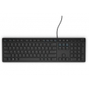 Dell KB216 Keyboard, Wired, English/Russian (Qwerty) full size with numeric keypad, Black, No, Russian, Yes, 503 g