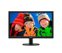 "LED 23.6"" FHD 243V5LHSB/00 1920x1080p 16:9 10M:1 (typ 1000:1) 250cd 1ms 170/160 VGA/DVI-D/HDMI, col.:Black"