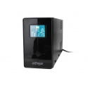 Energenie UPS with USB and LCD display, 850 VA, black