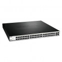 D-Link 52-Port PoE Gigabit Smart Switch 370W PoE including 4 x SFP
