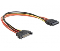 CABLE POWER EXTENSION SATA/0.3M CC-SATAMF-01 GEMBIRD