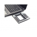 Gembird Slim Mounting frame for SATA 2,5'' drive to 5.25'' bay, 12mm