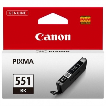 CAN CLI-551 Black Ink Cart. for PIXMA iP7250, MG5450, MG6350 (1105 pages)