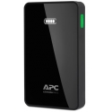 APC Mobile Power Bank, 5000mAh Li-polymer (for smatphones, tablets) Black