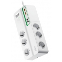 APC Home/Office SurgeArrest 6 Outlets with Phone and Coax Protection 230V Schuko
