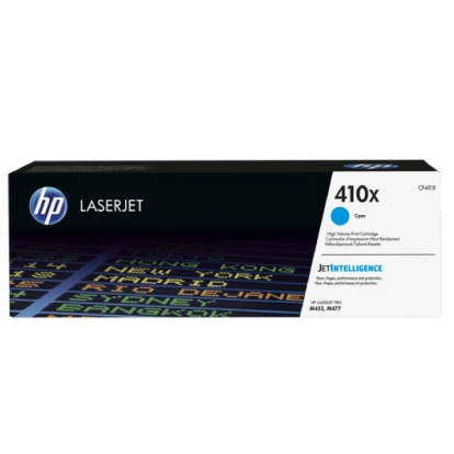 HP 410X High Yield Cyan Original LaserJet Toner Cartridge (5.000 pages)