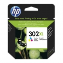 HP No. 302XL High Yield Tri-color Original Ink Cartridge (330 pages)
