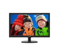 "Philips 223V5LHSB2/00 21.5 "", TN, FHD, 1920 x 1080 pixels, 16:9, 5 ms, 200 cd/m², Black, HDMI, VGA"
