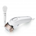 Fotoepiliatorius (IPL) Braun BD5008 Silk-expert - body & face + Facial cleansing brush