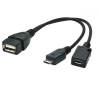 CABLE USB OTG AF +MICRO BF TO/MICRO BM A-OTG-AFBM-04 GEMBIRD