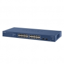 Netgear ProSafe Smart 24-Port GbE Switch, 2xSFP (GS724T v4)