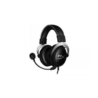 Kingston Headset HyperX CloudX 3.5mm plug, 3.5mm plug (4 pole) + PC extension cable and mic plugs, Black/ silver, Built-in microphone
