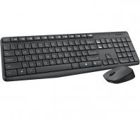 LOGITECH MK235 Wireless Keyboard&Mouse GREY RUS