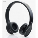 "Gembird Bluetooth stereo headset ""Berlin"" (black) / 40 mm speakers / 20 Hz - 20 kHz / 93 dB / 32 Ohm / Microphone: 360 degrees omni-directional"