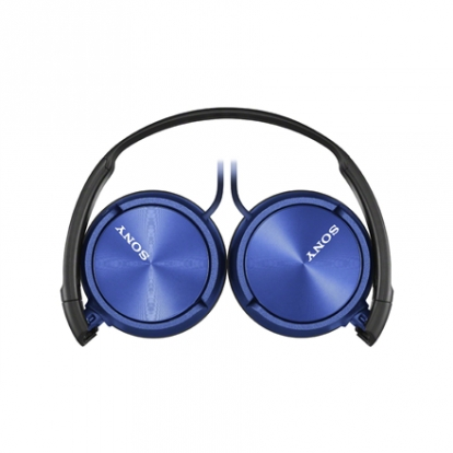 Sony Foldable Headphones MDR-ZX310 Head-band, Blue
