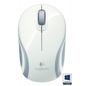 LOGITECH M187 Wireless Mini Mouse White - WER Occident Packaging