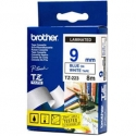 BROTHER TZE223 9 BLUE ON WHITE