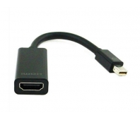 Gembird adapter mini displayport 1.1->HDMI, on cable, black