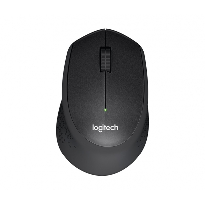 Logitech® M330 Silent Plus BLACK - IN-HOUSE/EMS,NO LANG,EMEA,RETAIL,2.4GHZ,M-R00