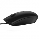 Dell Optical Mouse MS116 Cable, USB 2.0, Black