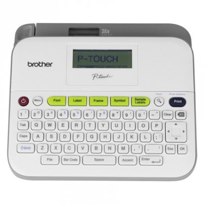 Brother PT-D400 Thermal, Label Printer, Grey, White