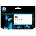 HP no.70 Ink Cart. Yellow with Vivera Ink (130ml)