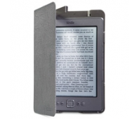 Dėklas Folio Case with LED Light for Kindle - Slate Silver