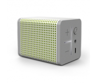 MiPow BOOMIN portable Bluetooth speaker (Silver)/ Bluetooth V4.0/ Pairing two phones at one time/ Built-in microphone/ Bi-directional noise redu