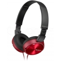 Sony MDR-ZX310 Head-band, Connection type 3.5 mm, Red