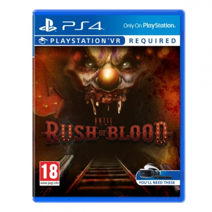Until Dawn Rush Of Blood PS4 (PSVR Required)