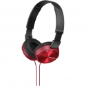 SONY MDRZX310R ZX STEREO HEADPHONES ROT,RED