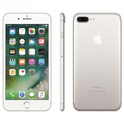 "Apple iPhone 7 Plus 32GB Silver, 5.5"", IPS LCD, 1080x1920 pixels, Apple, A10 Fusion, RAM 3GB, Single Nano-SIM, 3G, 4G, Main camera 12MP, Second camera 7MP, iOS, 10.0.1, 2900mAh"