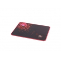 Gembird gaming mouse pad pro, black color, size M 250x350mm