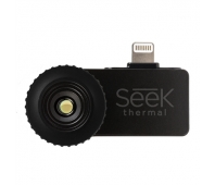 Seek Thermal Compact Thermal Imaging Camera with Lightning Connector and Protective Waterproof Case for Apple iOS Devices - Black