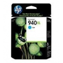 HP no.940XL Cyan Officejet Ink Cartridge (1.400 pages)