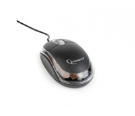 GEMBIRD MUS-U-01-BKT Gembird Optical mouse 1000 DPI, USB, black/transparent