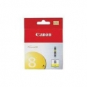 Rašalinė Canon CLI8Y yellow | 13ml | iP3300/4200/4300/5200/5300/6600/6700/MP500/