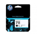 Rašalo kasetė HP 711 black | 38ml