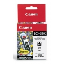 Canon BCI-6BK Black Ink Tank (for BJ 535/895/F9000, BJC 8200, i860/865/900/905/9100/950/960/965/990/9900/9950, Pixma iP4000/5000/6000/8500, MP750/760/780, S800/820/830/900/9000), 270 p. @ A4 5%