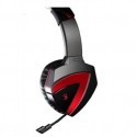 A4Tech Gaming Headset, Bloody G500 Combat Gaming Headset, compatible with PC and Tablets, iPad Black/ Red, Aux connector, Built-in microphone
