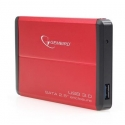"HDD CASE EXT. USB3 2.5""/RED EE2-U3S-2-R GEMBIRD"