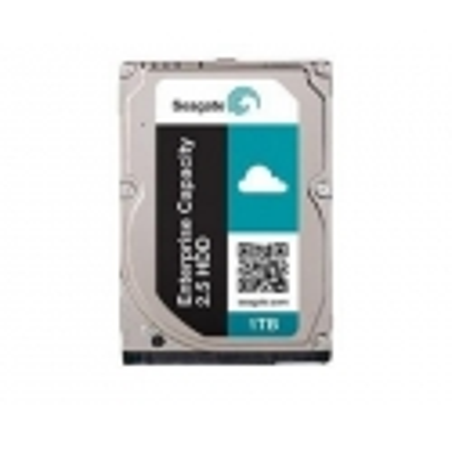 SEAGATE EXOS 7E2000 Enterprise Capacity 2.5 1TB HDD 512Emulation 7200rpm 128MB cache 6,4cm 2,5Zoll SAS 12Gb/s 24x7 Dauerbetrieb BLK