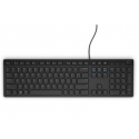 Dell KB216 Multimedia, Wired, Keyboard layout EN, English, Black, Numeric keypad
