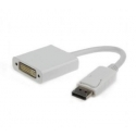 Gembird Displayport male to DVI (24+5) female adapter, white