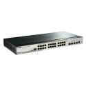 D-Link 28-Port Gigabit Stackable Smart Managed Switch including 4 10G SFP+