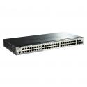 D-Link 52-Port Gigabit Stackable Smart Managed Switch including 4 10G SFP+