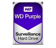 Internal HDD WD Purple 3.5'' 4TB SATA3 64MB