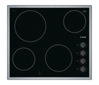 BOSCH Electric Hob PKE645CA1E 60 cm, Black